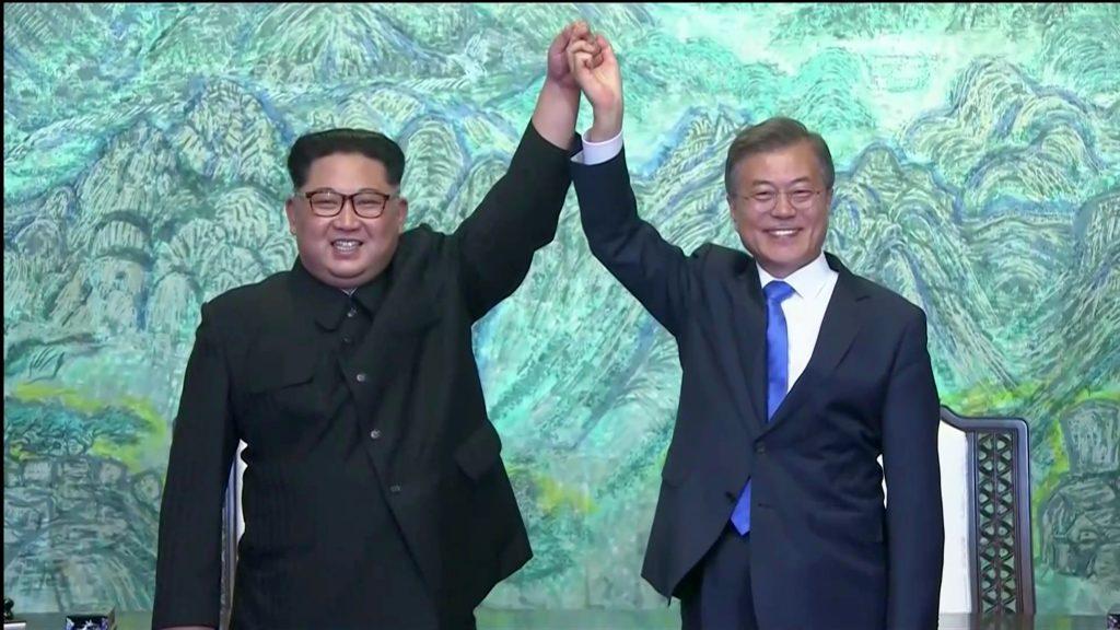 Βόρεια Κορέα Κιμ Γιογνκ Ουν Νότια Κορέα Μουν τζε-ιν