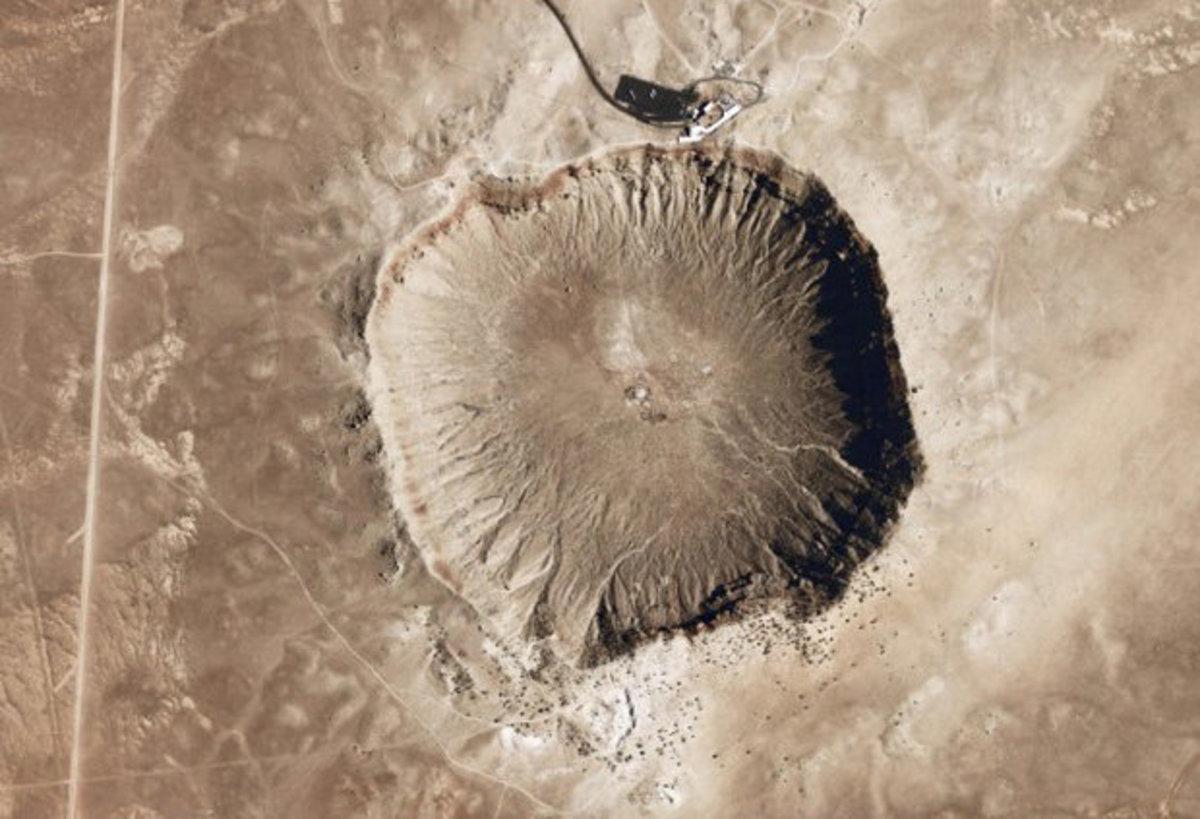 Απίστευτη τυχαία ανακάλυψη του Google Maps – Κρατήρας από αστεροειδή η… απόδειξη εξωγήινης ζωής; | Newsit.gr