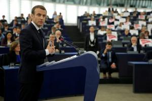 Μακρόν: Είμαστε στο πλευρό της Ελλάδας αν απειληθεί από την Τουρκία