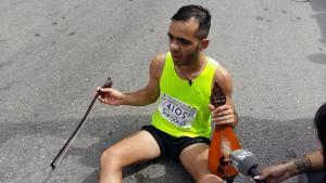 Κρήτη: Τερμάτισε στον Μαραθώνιο και αφιέρωσε μαντινάδα στον Γιώργο Μπαλταδώρο [vid]