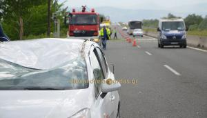 Τραγωδία στην Ημαθία! Δέντρο έπεσε σε αυτοκίνητο και σκότωσε άνδρα! [vid]