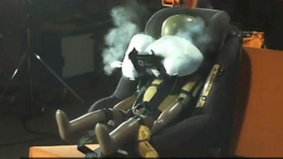 Το πρώτο παιδικό κάθισμα αυτοκινήτου με αερόσακους! [vids]   Newsit.gr