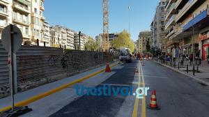 Θεσσαλονίκη: Διπλής κατεύθυνσης ξανά η Αγίας Σοφίας – «Τρέχουν» τα έργα για το Μετρό της πόλης [pics, vids]