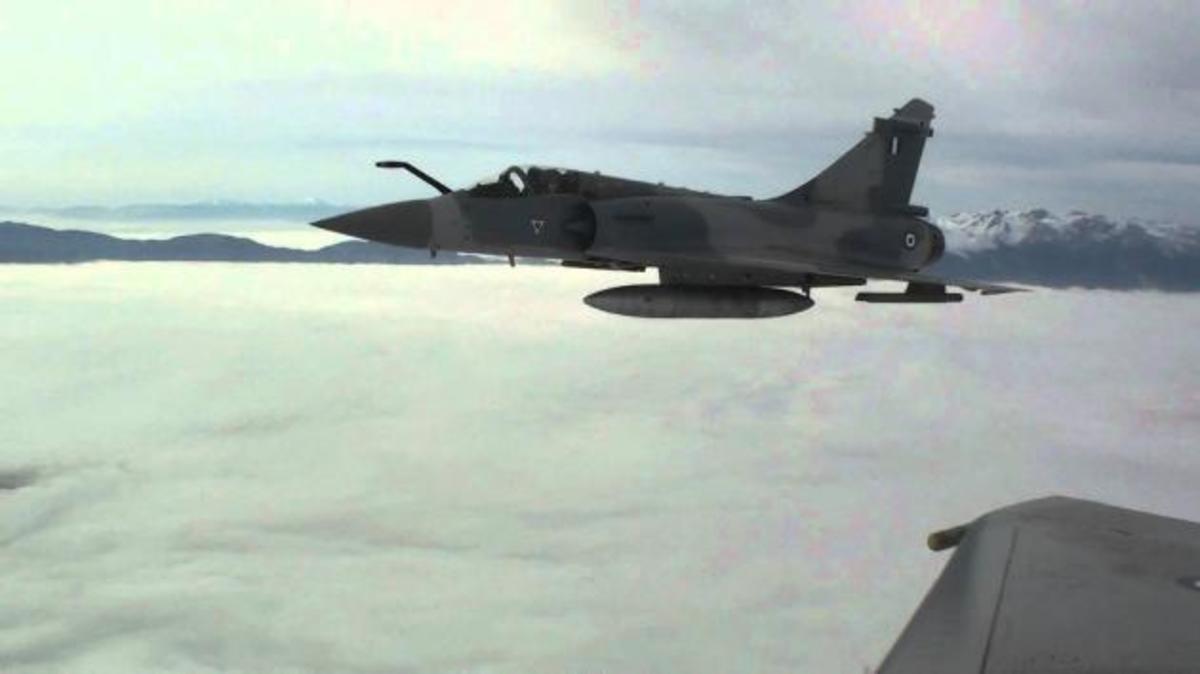 Mirage 2000 – 5: Η απόλυτη αεροπορική υπεροχή πάνω από το Αιγαίο [vid] | Newsit.gr