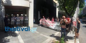 Πλειστηριασμοί: Διαμαρτυρία στη Θεσσαλονίκη