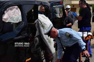 Οδηγός μηχανής «καρφώθηκε» σε αυτοκίνητο στο Ναύπλιο και ξεψύχησε [pics, vid]
