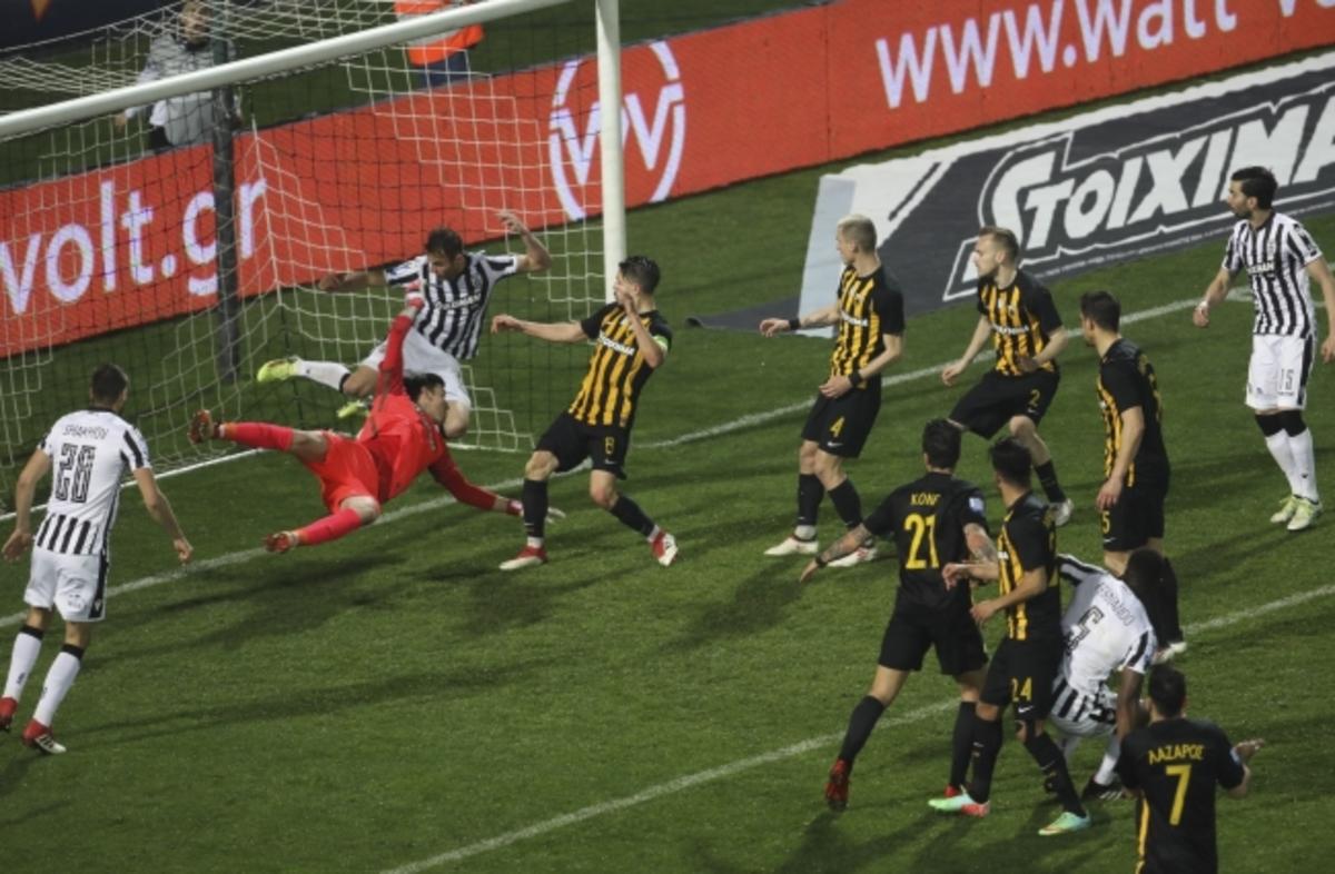 ΠΑΟΚ: «Καλύτερο γκολ του Μαρτίου η κεφαλιά του Βαρέλα» | Newsit.gr