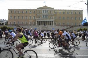 25ος Ποδηλατικός Γύρος: Κυκλοφοριακές ρυθμίσεις στην Αθήνα