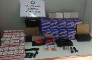 Βρέθηκαν 3.400 κροτίδες στο Άργος – Δύο συλλήψεις