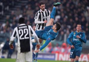 Απίστευτο! Στα 2,23μ. «πέταξε» ο Ronaldo για την γκολάρα στη Γιουβέντους