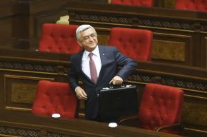 Νέος πρωθυπουργός της Αρμενίας ο πρώην πρόεδρος Σερζ Σαρκισιάν