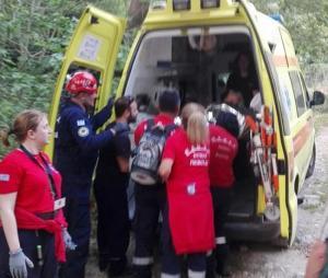 Σητεία: Αίσιο τέλος σε επιχείρηση διάσωσης γυναίκας – Έσπασε το πόδι στην πεζοπορία [pics]