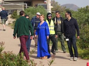Αχάραγα στο Σούνιο ξεκίνησαν τα γυρίσματα του BBC [pics, vid]