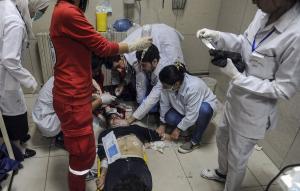 Συρία: «Φρικιαστικές» υποψίες για επίθεση με χημικά στην Ανατολική Γούτα
