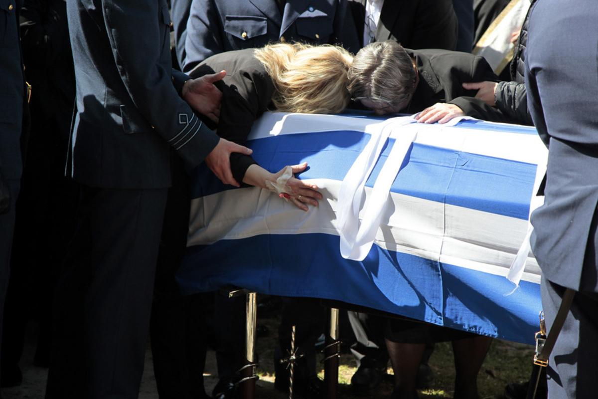 Γιώργος Μπαλταδώρος κηδεία