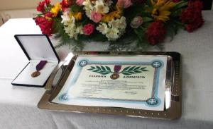 Ηλεία: Τίμησαν τον ήρωα αστυνομικό Βασίλη Μαρτζάκλη