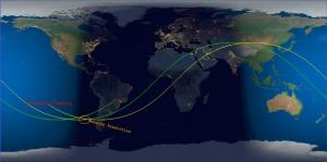 Tiangong-1: «Μπήκε» στη Γη και κάηκε πάνω από τον νότιο Ειρηνικό