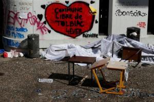 Γαλλία: Η αστυνομία μπούκαρε σε πανεπιστήμιο και διέλυσε κατάληψη! Οι φοιτητές ήταν διακοπές