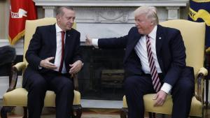Τραμπ Ερντογάν Συρία