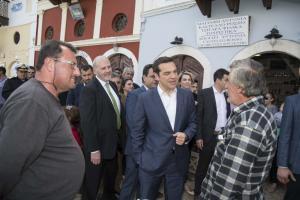Φόρος τιμής από Τσίπρα στην «Κυρά της Ρω» – Η επίσκεψη στο νησί και η ιδιαίτερη αναφορά του πρωθυπουργού