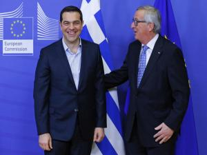 Αύριο η ομιλία Γιούνκερ στην ελληνική Βουλή