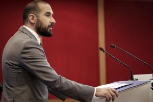 Τζανακόπουλος: «Μου τηλεφώνησε ένας κύριος που μου συστήθηκε ως Βαγγέλης Μαρινάκης»