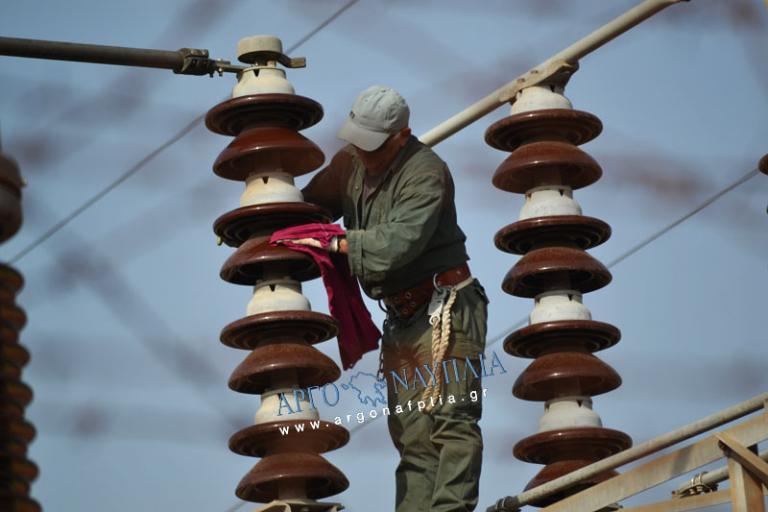 Αργολίδα: Χωρίς ρεύμα ο μισός νομός – Το πρόγραμμα στις διακοπές ρεύματος [vid] | Newsit.gr
