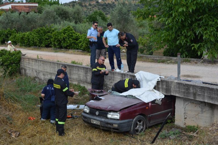 Ναύπλιο: Μαρτυρικός θάνατος για πατέρα 4 παιδιών – Το αυτοκίνητο σφήνωσε σε γεφυράκι – Σκληρές εικόνες στο σημείο [pics, vid] | Newsit.gr