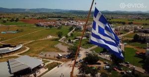 Σημαία 600 τετραγωνικών σήκωσαν στην Αλεξανδρούπολη [vid]