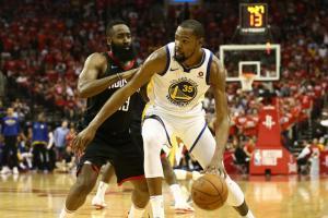 NBA: Επιβλητικοί οι Γουόριορς! «Έσπασαν» με το «καλημέρα» την έδρα των Ρόκετς [vid]