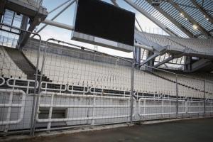 ΑΕΚ – ΠΑΟΚ: Οι αλλαγές στο ΟΑΚΑ ενόψει τελικού! Συρματοπλέγματα, κάγκελα και πλέξιγκλας [pics]