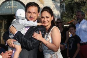 Σταύρος Νικολαΐδης: Βάφτισε τον γιο του! [pics]
