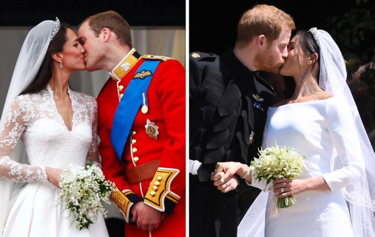 Μέγκαν Μαρκλ – Κέιτ Μίντλετον: Το απόλυτο «crash test» των royal brides | Newsit.gr