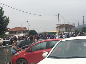 Θρήνος στη Λάρισα στην κηδεία του 32χρονου