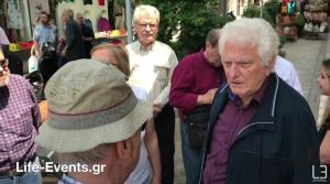 Θεσσαλονίκη: Έντονος διάλογος Μηταφίδη με πολίτη για τη Μακεδονία