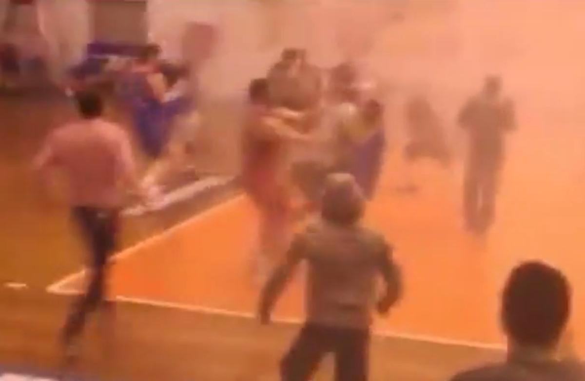 Νέο video με τα τρομερά επεισόδια που έφεραν τη διακοπή στο ΟΚΑΜ-Νήαρ Ηστ!