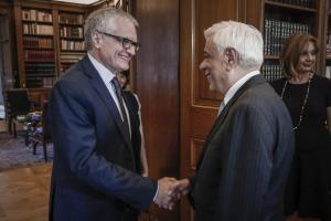 Συνάντηση Παυλόπουλου – Νικολέτι: Ανάγκη στήριξης του κοινωνικού κράτους στην Ευρώπη