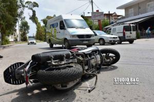 Ένας τραυματίας σε τροχαίο ατύχημα στο Ναύπλιο [pics]