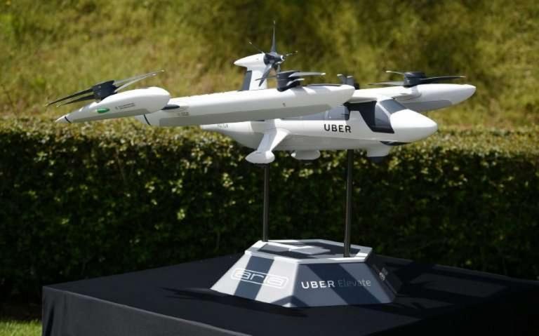 Ιπτάμενο ταξί από την Uber – Συνεργασία με τη NASA
