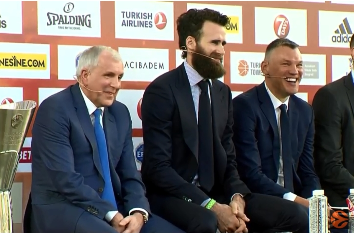 Final Four: Ομπράντοβιτς και Ντατόμε έκαναν τους πάντες να γελάσουν! [vid] | Newsit.gr