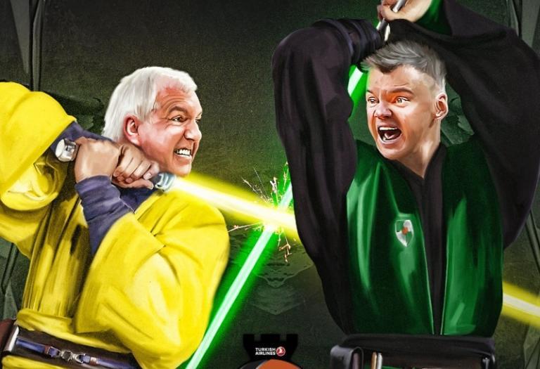 Final Four: Ομπράντοβιτς και Γιασικεβίτσιους «έγιναν» Jedi! Ποιος θα νικήσει; | Newsit.gr