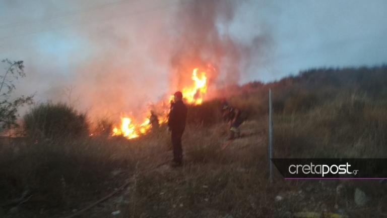 Φωτιά σε καταυλισμό τσιγγάνων στην Κρήτη | Newsit.gr