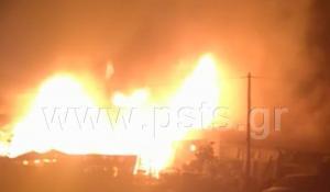 Καταστροφική φωτιά στην Πάρο [vid]