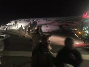 Αυτός κι αν ήταν τρόμος στον αέρα! Αεροπλάνο προσγειώθηκε με το ρύγχος! Τρομακτικές εικόνες
