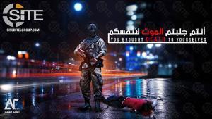 Νέες απειλές τζιχαντιστών με μία εικόνα που προκαλεί ανατριχίλα – Νεκρός πολίτης στον δρόμο μέσα στα αίματα