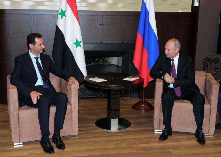 Συνάντηση Πούτιν – Άσαντ στο Σότσι   Newsit.gr