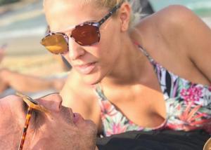 Έλενα Ασημακοπούλου – Μπρούνο Τσιρίλο: Ρομαντική απόδραση στη Μύκονο