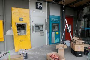 «Σμπαράλιασαν» ATM στην Εκάλη