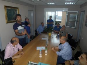 Τρίκαλα: Πιάστηκαν στα χέρια στο εργατικό κέντρο
