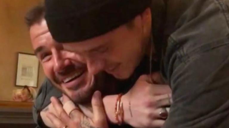 Ξέσπασε σε κλάματα ο Ντέιβιντ Μπέκαμ στα γενέθλια του! [vid] | Newsit.gr